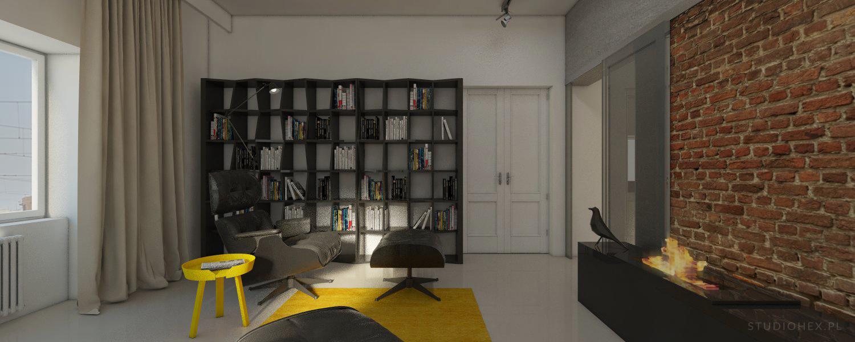 biblioteka rome apartment