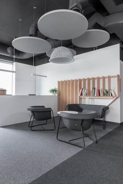 ADMIND projekt biura Kraków 4 recepcja