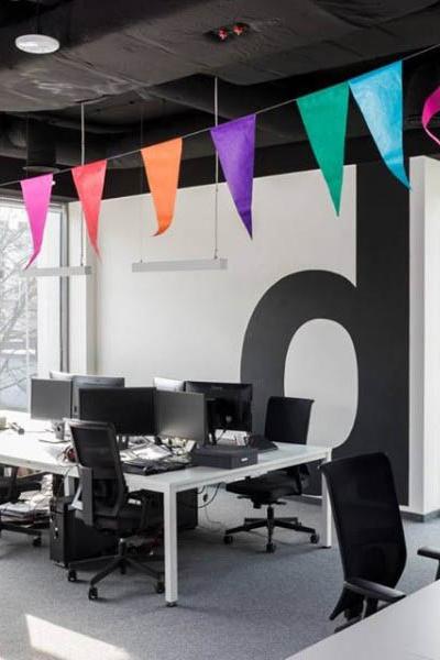 ADMIND projekt biura Kraków 5 open office pion