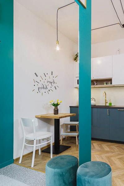 Kordeckiego Kraków mieszkanie na wynajem 1 kuchnia pion