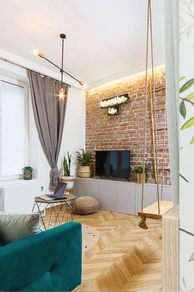Kordeckiego Kraków mieszkanie na wynajem 4 salon pion