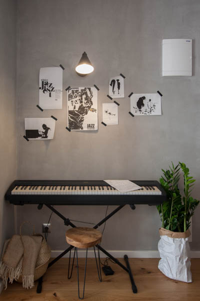 PDW mieszkanie podgórze 7 pianino elektryczne