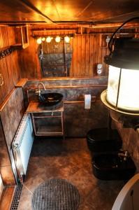 steampunk łazienka